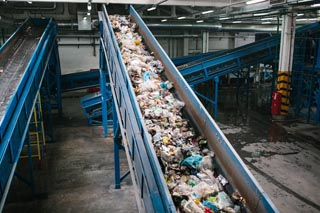 Waste and Sorting Conveyor Belt Systems